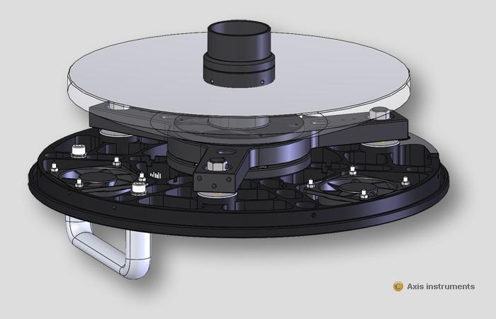 Axis instruments cassegrain de 250mm for Miroir cassegrain